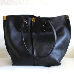 New Chloe Vick Calf Leather Tote Bag Purse